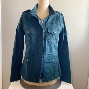 Kensie Jeans Fitted utility jacket